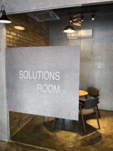 Our Solutions Room-One room can fit for 4 pax